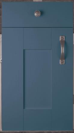 Wilton Oakgrain Azure Blue Door