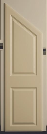 York Sloping Door