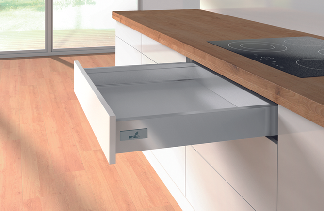Fully extendable drawers