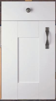 Wilton Oakgrain White Door