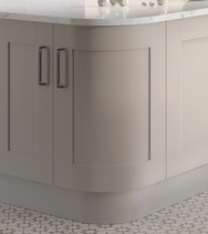 Curved Door and Plinth