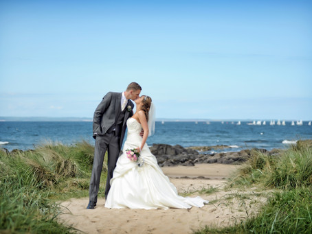 Beautiful beach locations in East Lothian to celebrate your Wedding Day.
