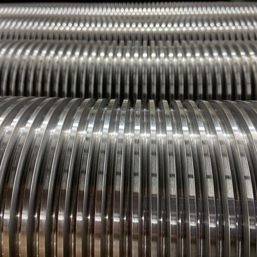 Filetages Trapézoïdaux de 8mm Fond Rond