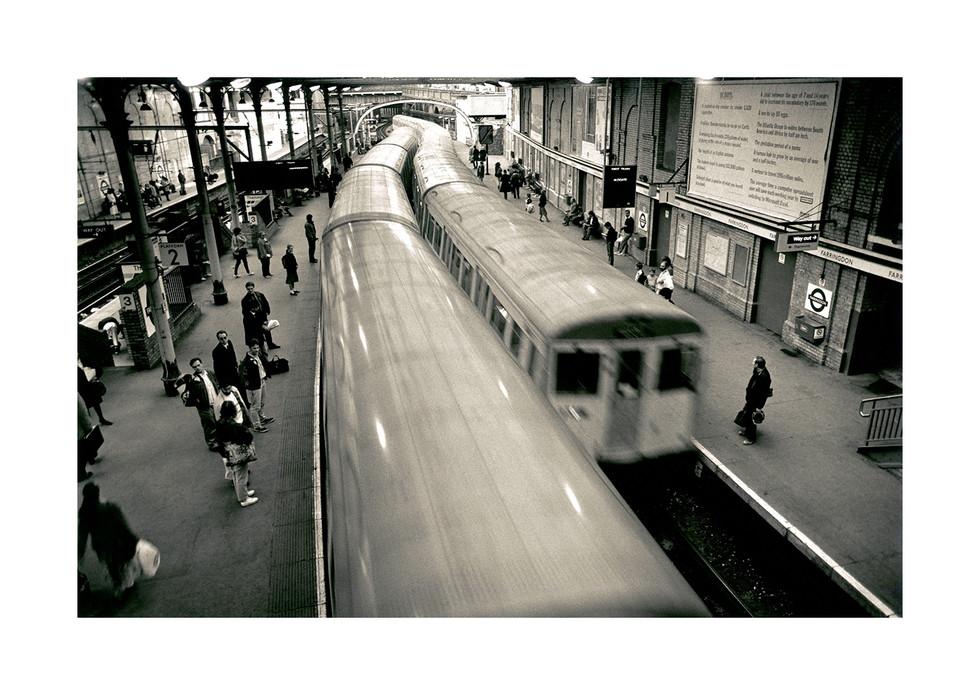 Farringdon Station London