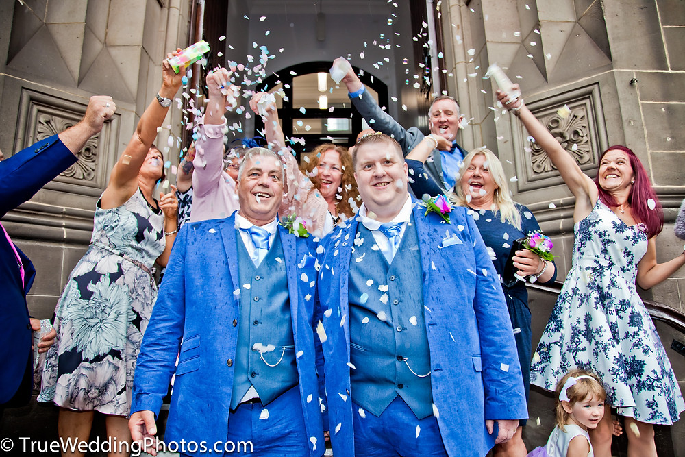 Civil Partnership weddings at Middlesbrough Town Hall