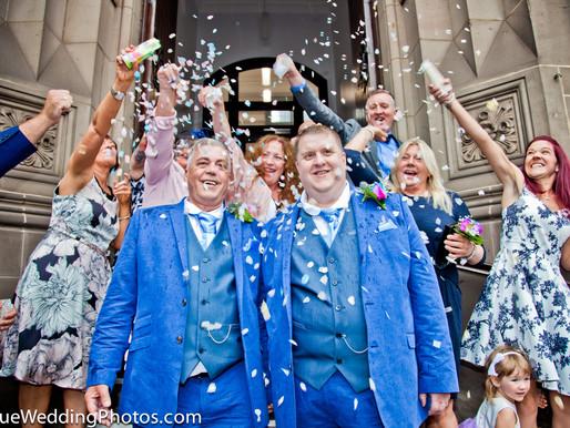 Civil Partnership Wedding at Middlesbrough Town Hall