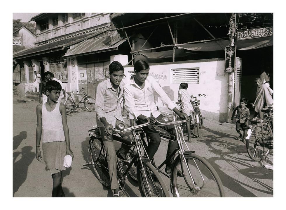 India Boys on Bikes