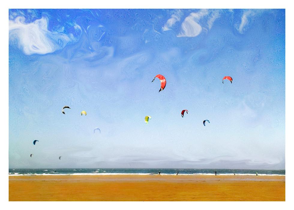 Marske Kite Surfers