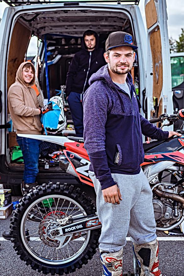 Motor Bike stunt Performers