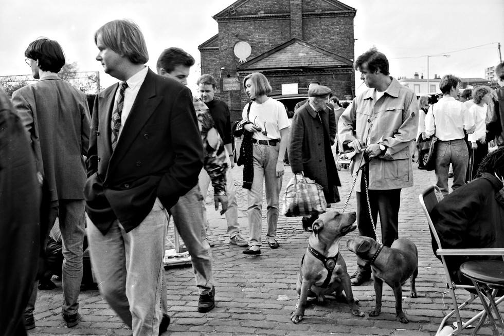 Camden Market 1980's Raw Film