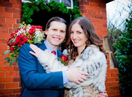 Angela & Paul have their wedding at Trinity Methodist church in Eaglescliffe