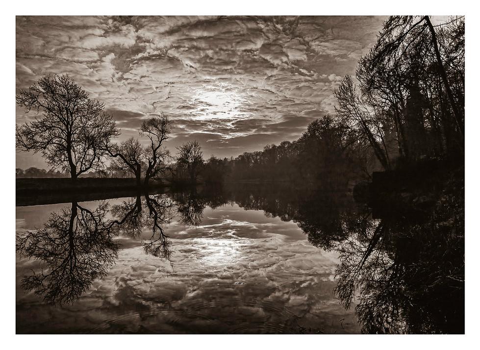 River Tees Clouds