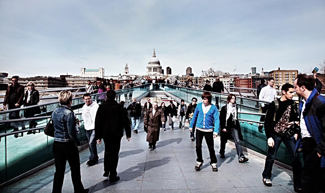 Millennium Bridge London.