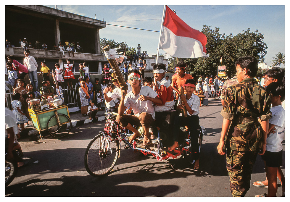 Indonesia Independence Parade Lads