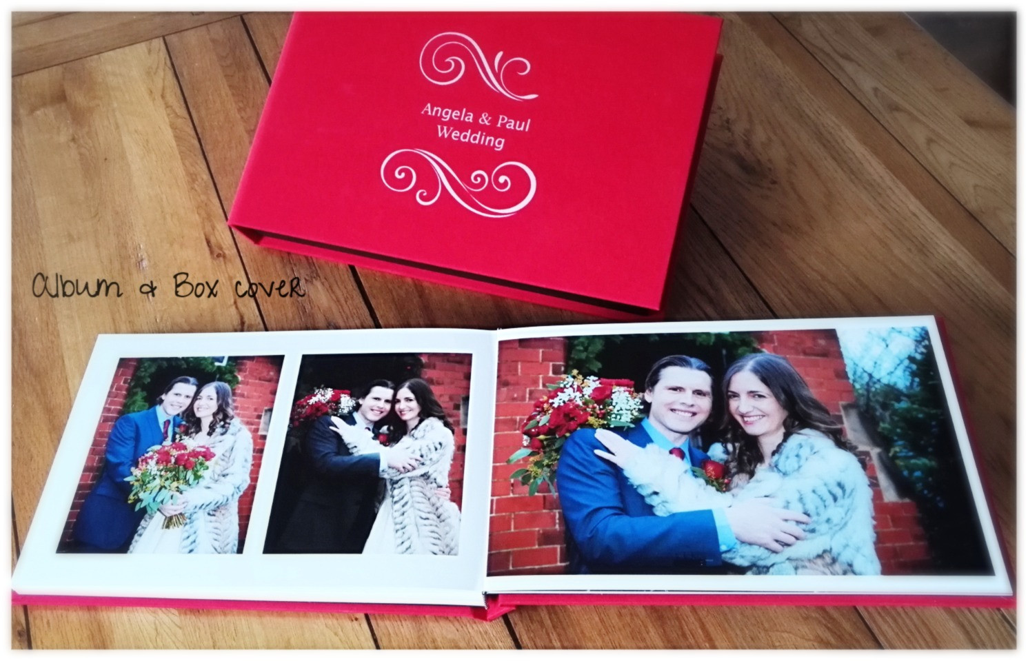 Wedding Book Album Box