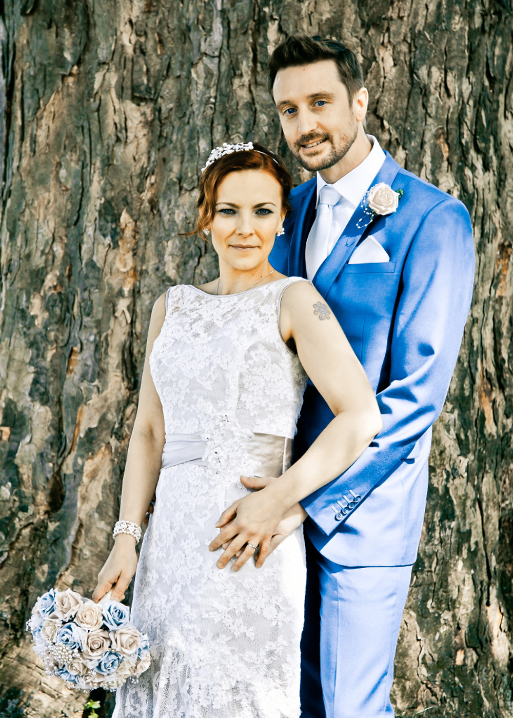 Posed Wedding photography in Teessi