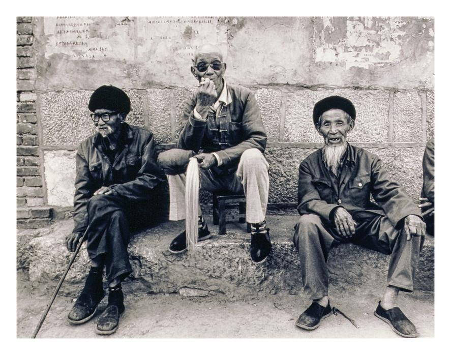 China's old men