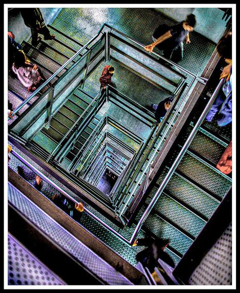 Stairwell Sage Gateshead.