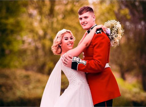 Posed wedding photography