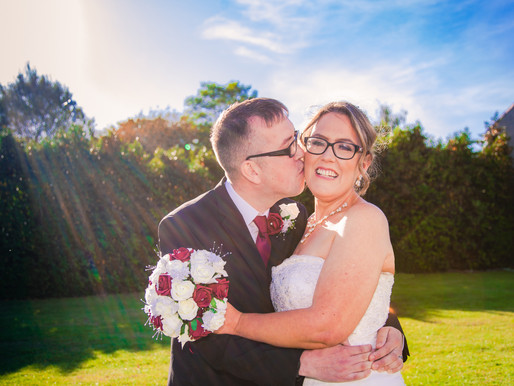Andy & Louise have their wedding