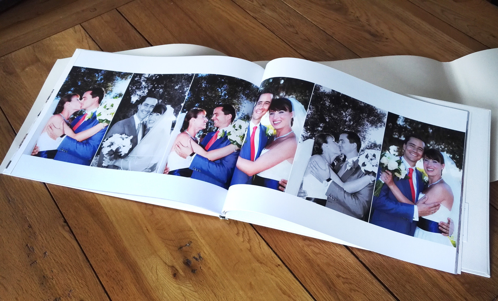 Wedding Book Queensberry Press-page