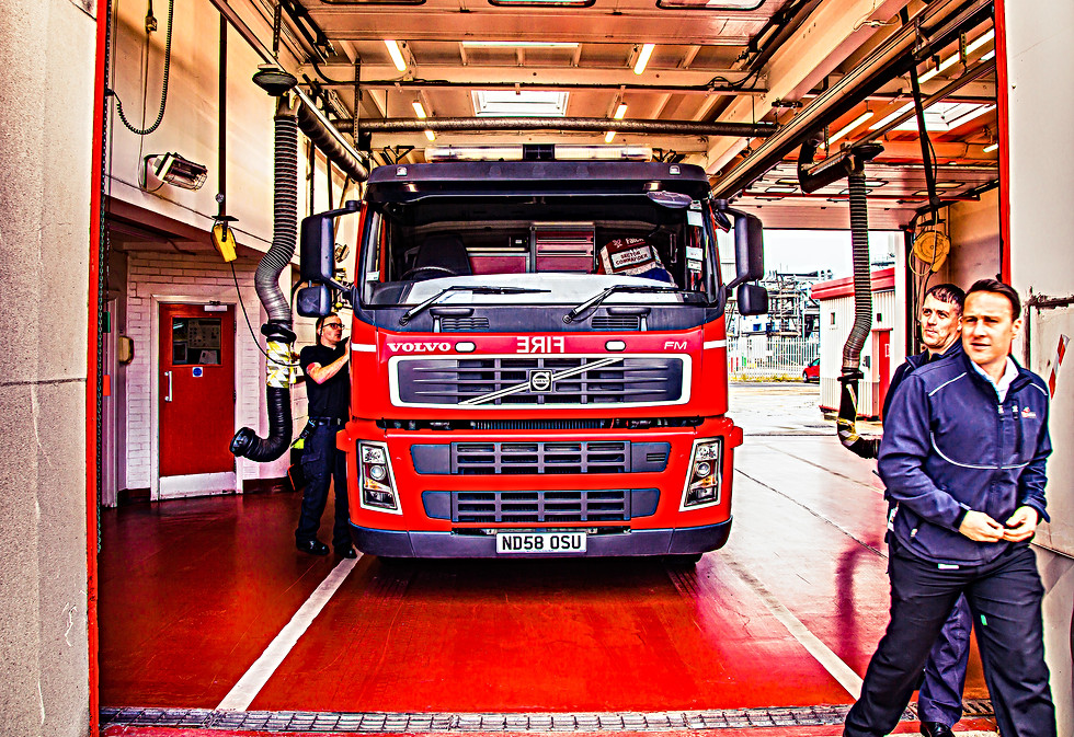 Falck Fire Services Wilton Site