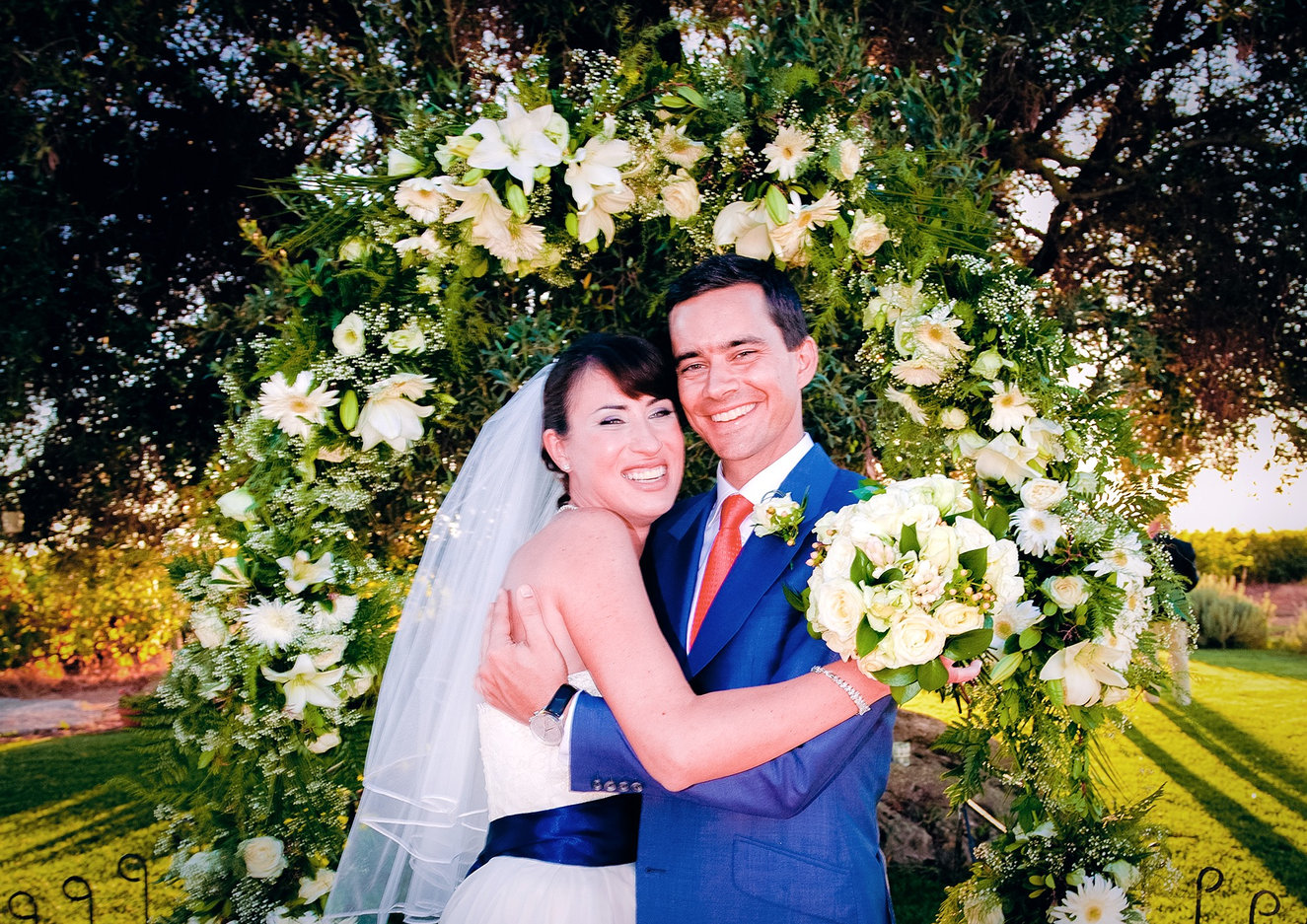 Bride & Groom photographed in Portugal