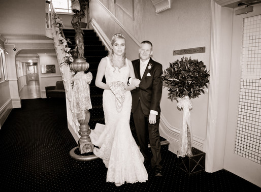 Wedding ceremony at The Parkmore Hotel in Eaglescliffe