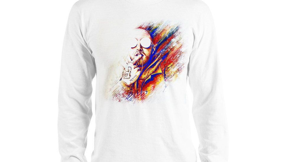 Mac Miller #1 Art Long sleeve T