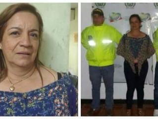 CapturadaGladys Fuentes Chanaga, exgerente del Banco Agrario de Santa Rosa del Sur (Bolívar)