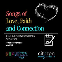 Songs of love faith and connection poste