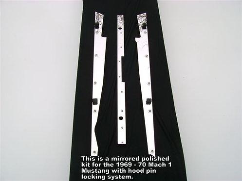 1969 & 1970 Mach 1 w/hood pin locking system