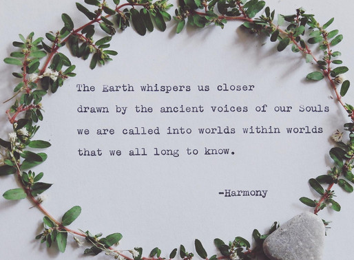 The Earth whispers us closer...