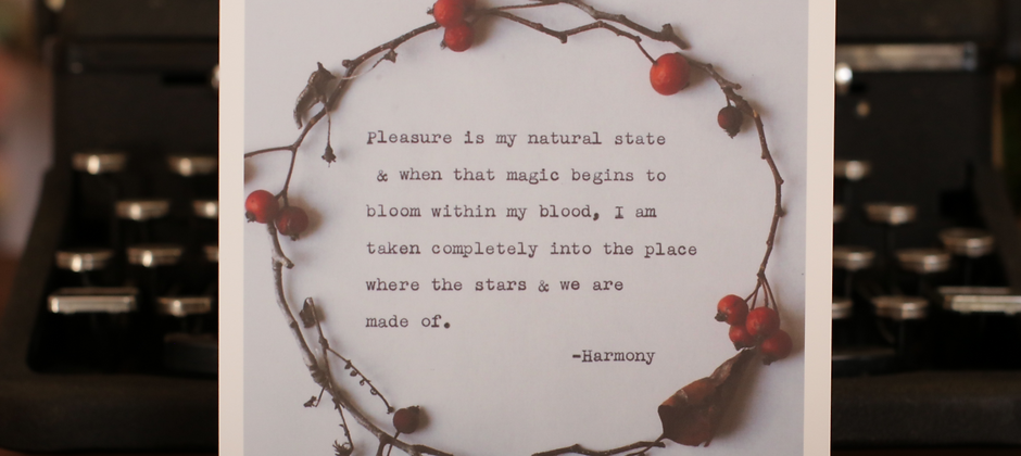 Magic Blooms | 5 x 5 Poetry Print