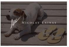 NICOLAS LAINAS(ニコラス ライナス)ブランドサイトを開設しました。