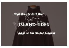 Island Tides(アイランド・タイド)ブランドサイトを開設しました。
