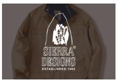 Sierra Design(シェラ・デザインズ)ブランドサイト開設しました。