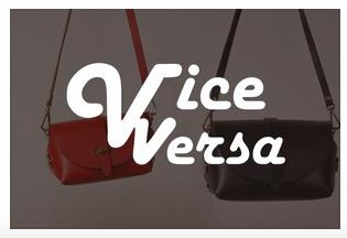 VICE VERSA(バイス・ベルサ)ブランドページを開設しました。