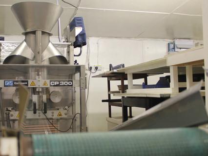 Packaging process at Canara Farm