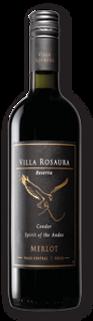 Red Merlot Villa Rosaura Reserva