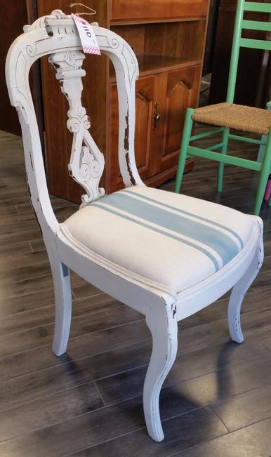 Pale Stripe Chair