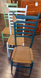 Three Shades of Green Chairs