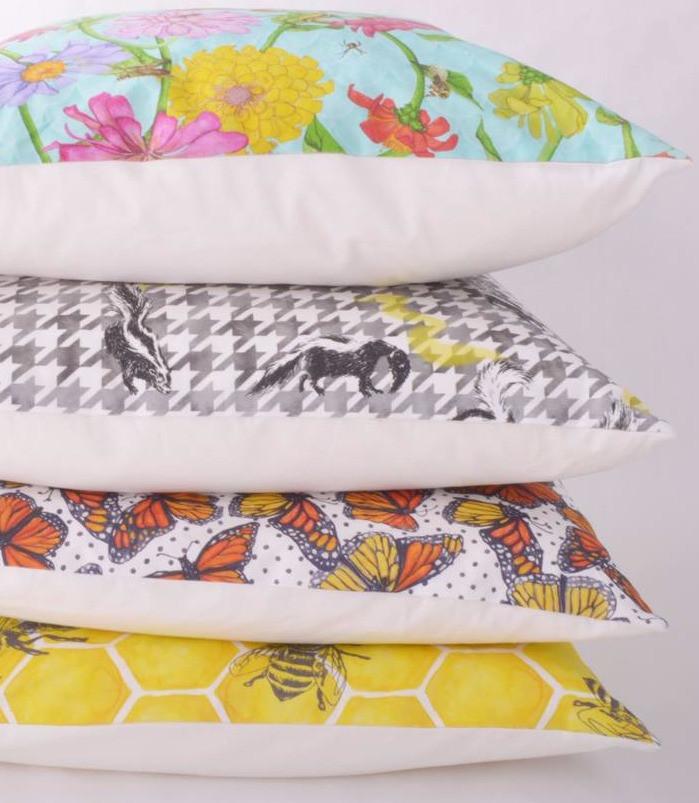 Gold & Ginger pillows