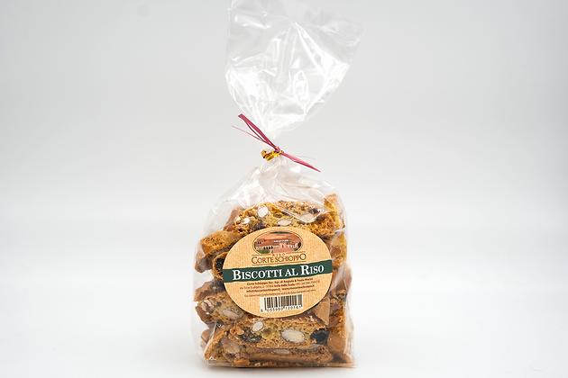 Biscotti Toscanucci con farina di Riso - 250 grammi