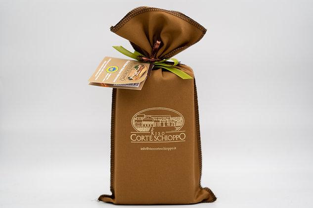 Riso Nano Vialone Veronese I.G.P - Riserva in sacchetto di tela - 1 kg