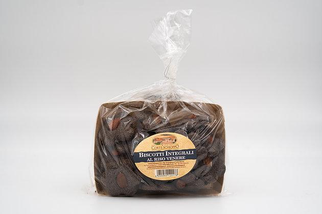 Frollino con farina di Riso Venere con arancia candita - 200 grammi