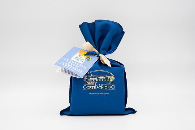 Riso Nano Vialone Veronese I.G.P confezionato in sacchetto di tela - 0,5 kg