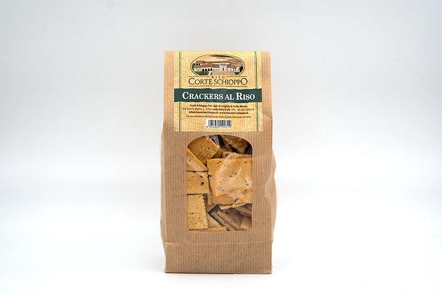 Crackers mediterranei con farina di Riso - 250 grammi