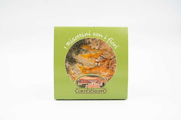 Risottino con i Fiori alle Zucchine e Porri - 250 grammi
