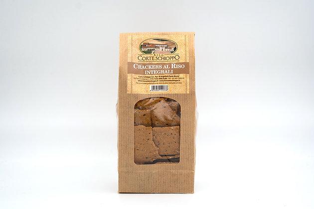 Crackers multicereali con farina di Riso - 250 grammi